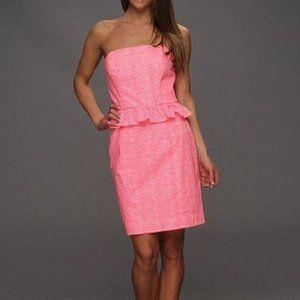 Lilly Pulitzer strapless dress/LOWE